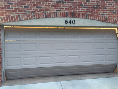 give them a good clean garage door panels